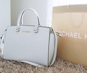 bag, Michael Kors, and white image