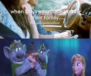 frozen, parents, and funny image