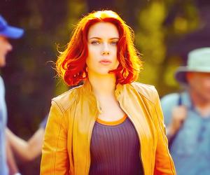 Scarlett Johansson, the avengers, and cute image