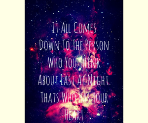 galaxy, quotes, and Relationship image