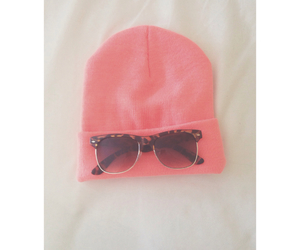 beanie, forever 21, and glasses image