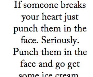 quotes, ice cream, and heart image