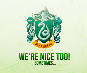 harry potter, slytherin, and house pride image