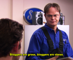 blog, bloggers, and dwight image
