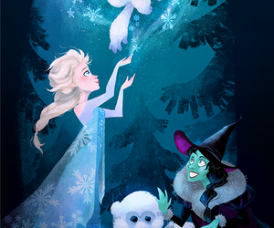 frozen, wicked, and elsa image