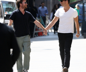 holding hands, jason bateman, and will arnett image