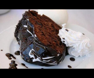 cake, Hot, and chocolate image