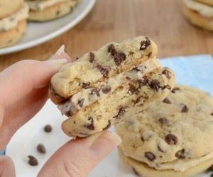 chocolate, delicious, and Cookies image