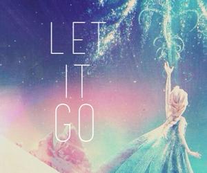 frozen, elsa, and let it go image