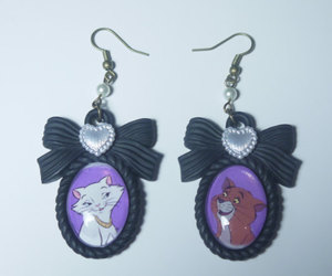 aristocats, bead, and bow image