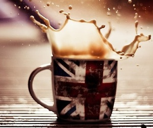 coffee, cup, and london image