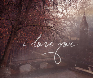 love, I Love You, and london image