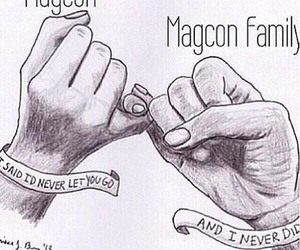 holding on, magcon, and tf26mgmt image