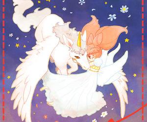 sailor moon, pegasus, and chibiusa image