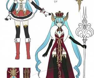 vocaloid, hatsune miku, and suzunosuke image