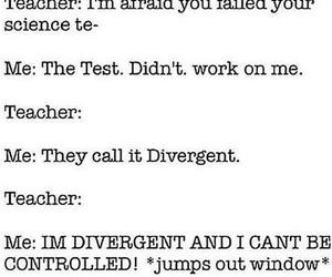 divergent and funny image