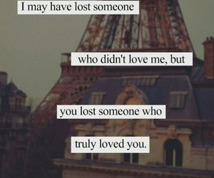 love, quote, and lost image