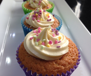 baking, sprinkles, and colours image
