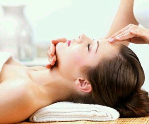 face, massage, and peace image