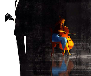 cellist, love, and agents of shield image