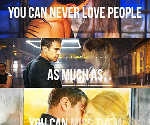 divergent, fourtris, and four image
