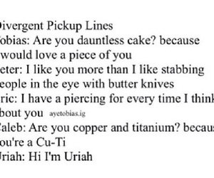 beatrice, four, and pickup lines image