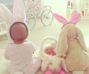 baby, candy, and easter image