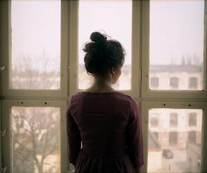 alone, portrait, and sad image