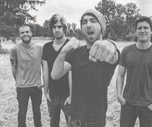 band, tumblr, and all time low image