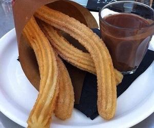 nutella and churos image