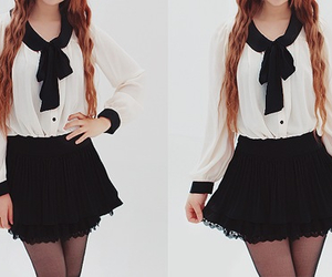 cute, fashion, and skirt image