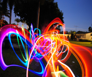 light, colorful, and photography image