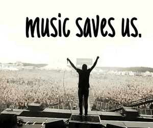 music, save, and life image