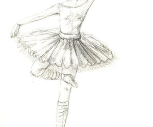 ballet, clothes, and draw image