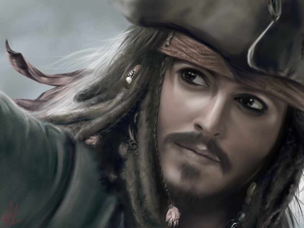 Image About Art In Jack Sparrow By Rum On We Heart It