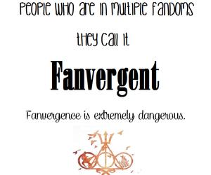 fandom, divergent, and fanvergent image