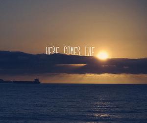 sun, sea, and quote image