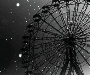 black, city, and park image