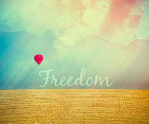 freedom, inspiring, and let's escape image