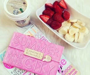 coffee, strawberry, and FRUiTS image