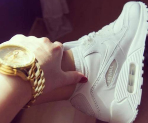 air max, shoes, and white image