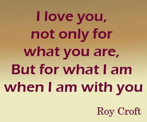 roy croft and love image