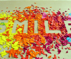 smile, colors, and happy image