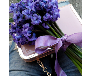 bouqet, fashion, and flowers image
