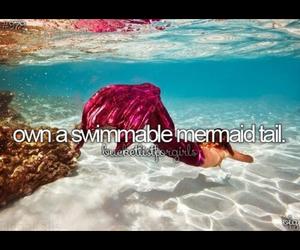 before i die, love, and mermaid image