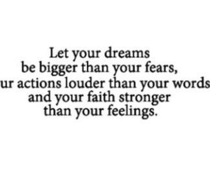 dreams, fear, and strong image