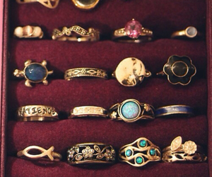 vintage and rings. image