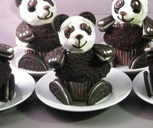 panda, oreo, and cupcake image