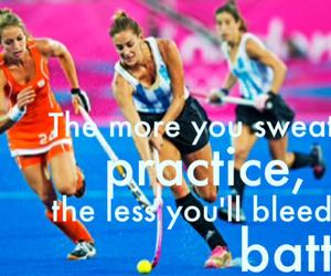 battle, hockey, and sweat image
