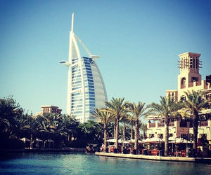 Dubai, pool, and burj al arab image